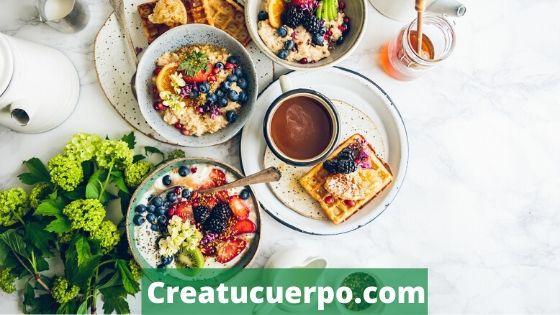 Desayuna bien para reducir la grasa abdominal