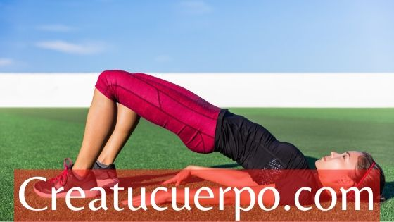 hip thrust para piernas y glúteos