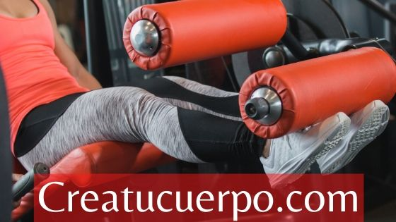 extensiones de cuádriceps para aumentar piernas y glúteos