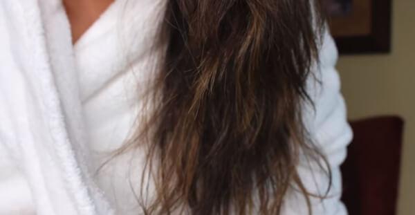 cabello seco y maltratado