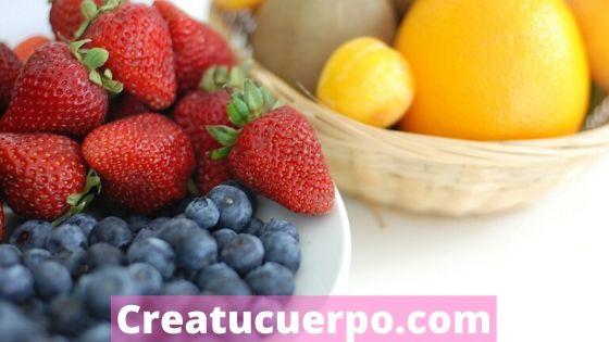 Aliméntate con frutas y verduras