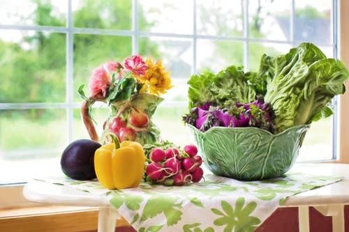 la dieta vegetariana es muy saludable comer vegetales