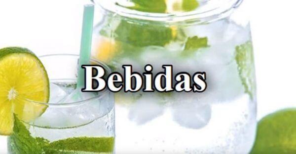 bebidas permitidas, dieta astringente