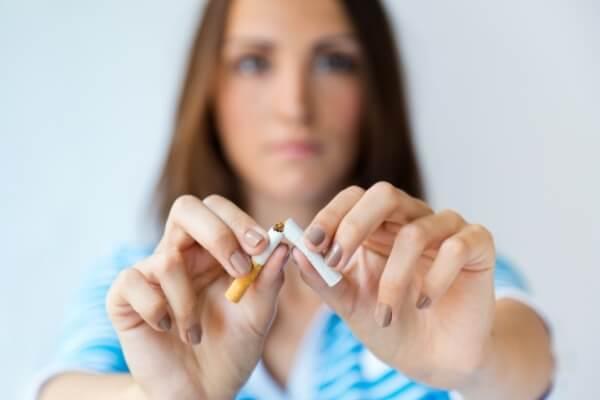 No fumes ni tomes sustancias nocivas para tu organismo