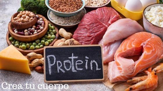 Las proteínas son fundamentales para un vientre plano y marcado