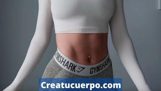 Puedes eliminar la grasa abdominal aunque seas mujer