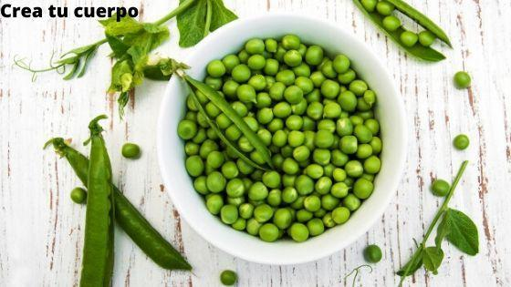 Guisantes, alimento con grandes propiedades nutritivas