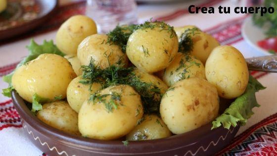 Patata cocida, uno de los alimentos más sanos que nos da la naturaleza