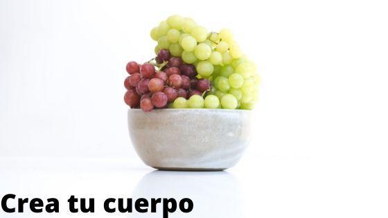 Come uvas, fuente de fibra y glucosa