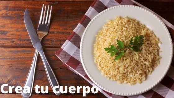 arroz integral, uno de los alimentos con mas fibra