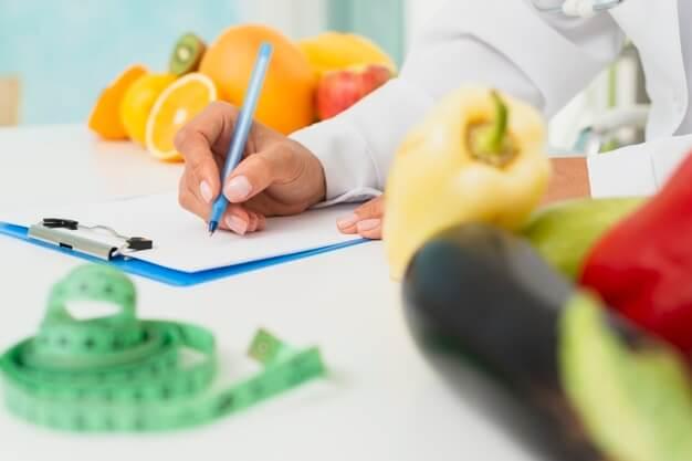 un nutricionista te ayudará a estar en forma
