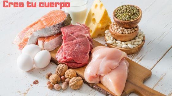 Proteínas para un cuerpo perfecto