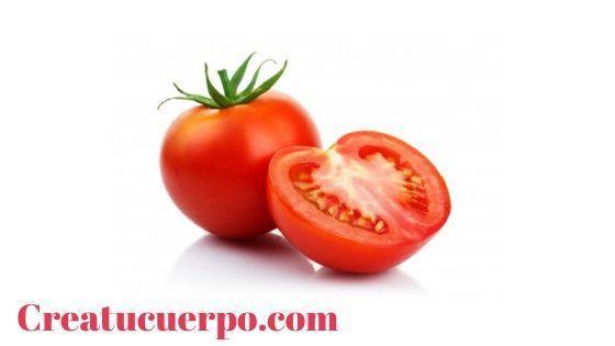 tomate, un gran remedio para aclarar la piel