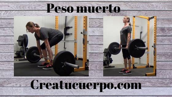 Peso muerto, uno de los mejores ejercicios Fitness