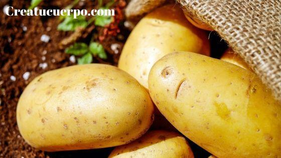 La patata como remedio para blanquear la piel