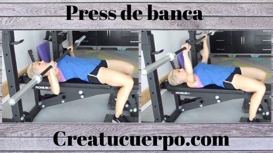 Press de banca, ejercicios Fitness básicos