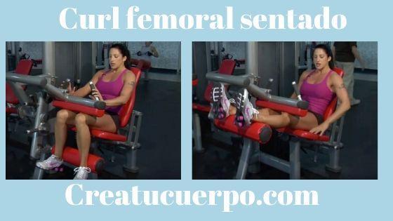El curl femoral ayuda a tener unas piernas más esbeltas