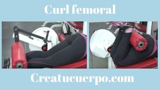 Curl femoral para adelgazar las piernas