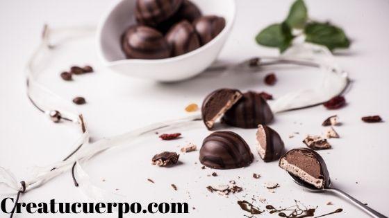 el chocolate es adictivo pero delicioso