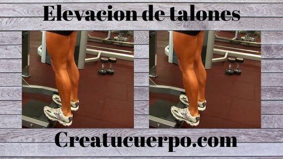 Elevación de talones, mejores ejercicios Fitness