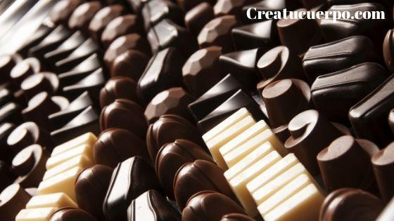el chocolate nos regula el apetito por su efecto saciante