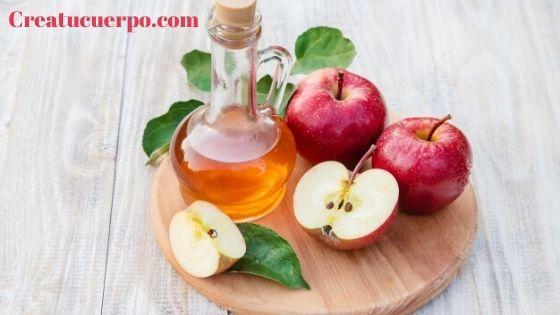 Vinagre de manzana para blanquear la piel