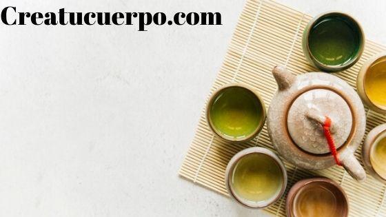 el té verde nos ayuda a bajar el volumen de un vientre hinchado