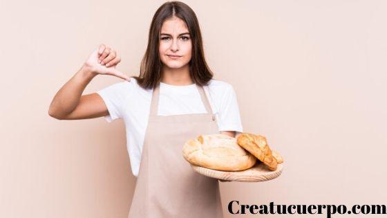 come pan integral antes que el blanco