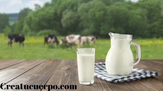leche desnatada para nuestra piel
