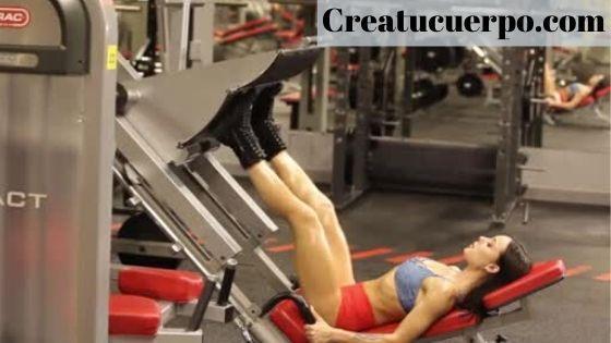 prensa atlética para caderas y glúteos