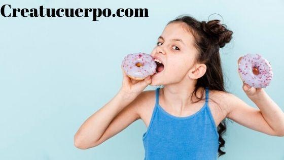 tenemos que controlar el consumo de dulces en los niños