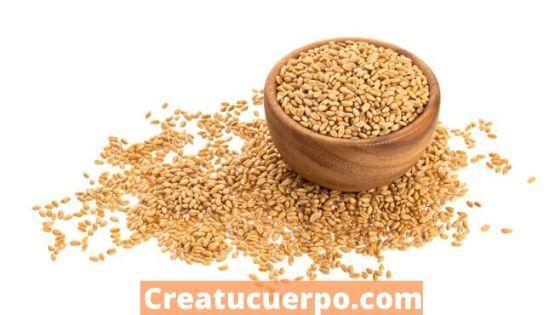 El trigo integral tiene muchas proteínas