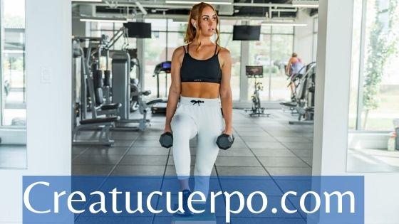 rutina piernas y glúteos en casa o en el gym