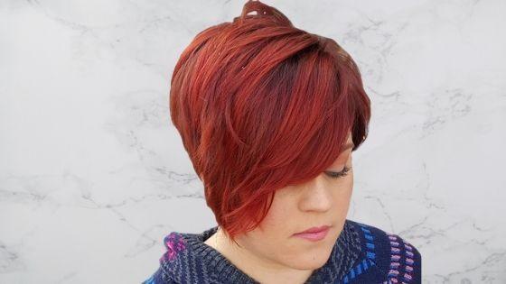 Corte pixie red