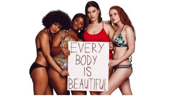 Tipos de cuerpo de chica o mujer