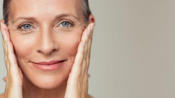 Como mantener la piel joven después de los 50