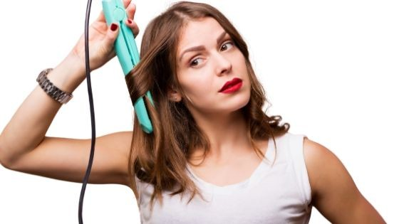 cuidado con la plancha para el cabello