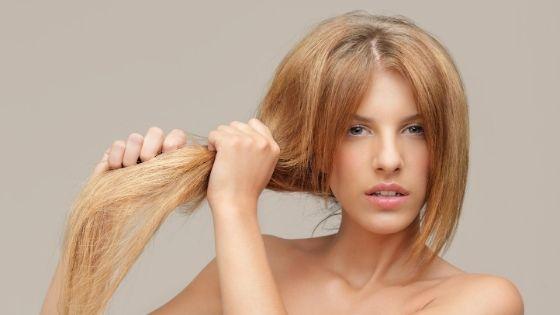 pelo seco y dañado
