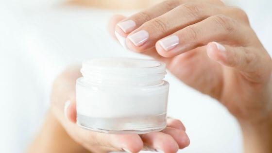 Utilización de la crema humectante