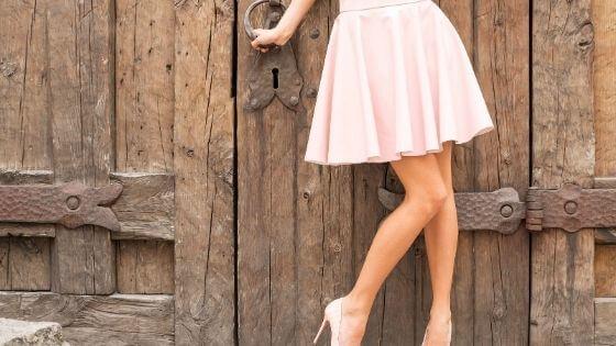 faldas con pelo corto