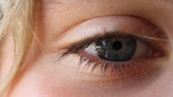 Pestañas dentro del ojo