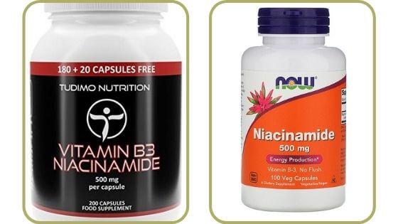 Suplementos de niacinamida