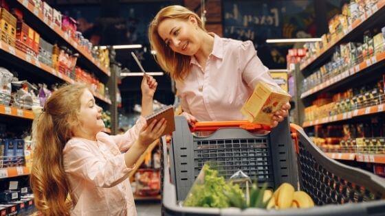 Como hacer una lista de la compra saludable y barata