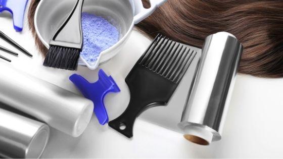 Elige los utensilios adecuados para decolorar tu pelo