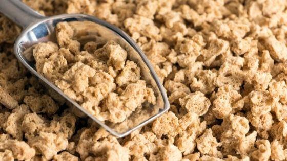 Usos de la soja texturizada
