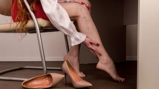 Causa de las piernas cansadas