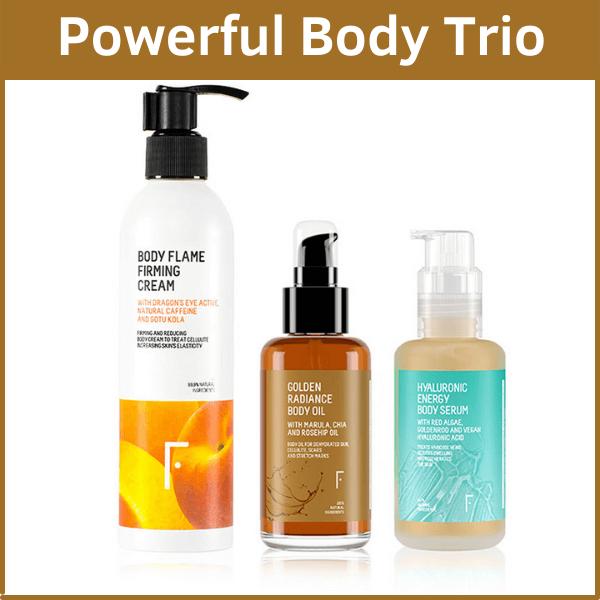 Powerful Body Trio de Freshly cosmetics