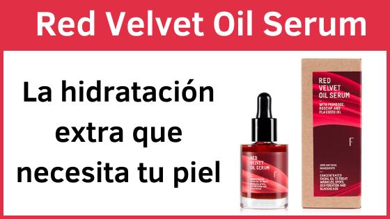 Red Velvet Oil Sérum